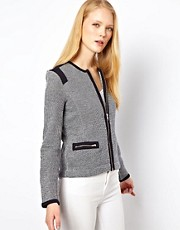 Whistles Mila Textured Jersey Biker