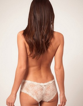 Image 2 ofKinky Knickers Scalloped Lace Hipster Knickers