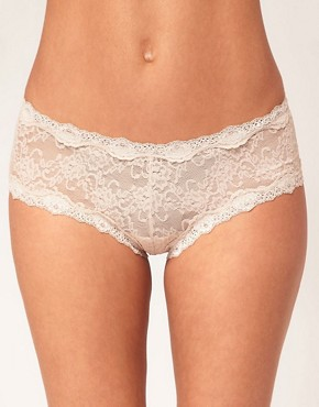 Image 1 ofKinky Knickers Scalloped Lace Hipster Knickers