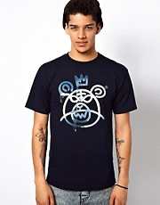 Mishka T-Shirt Sky Bear Mop