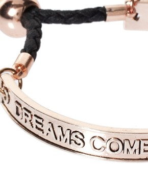 Image 4 of Love Rocks Dreams Come True If You Really Want Them To Bangle