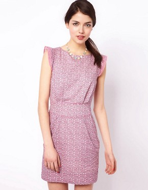 Image 1 ofEmily &amp; Fin Printed Alice Dress