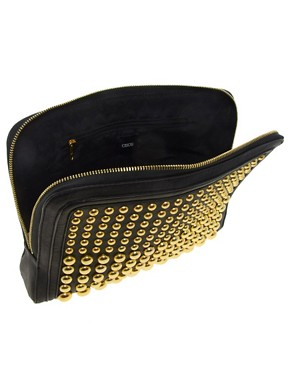 Image 2 ofASOS Dome Stud Clutch