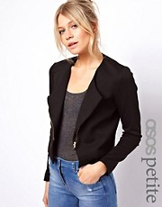 ASOS PETITE Ponte Biker Jacket