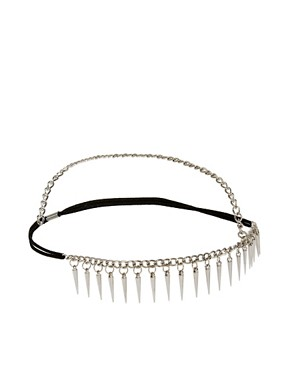 Image 2 ofASOS Spike Crown Headband