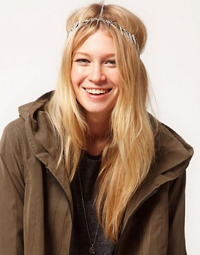 Image 1 ofASOS Spike Crown Headband