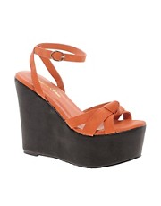 Sugarfree Tiffany Platform Wedge