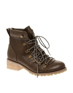 Image 1 ofASOS ALDIS HIKING Ankle Boot