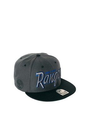 Image 1 of47 Brand Snapback Cap NY Rangers