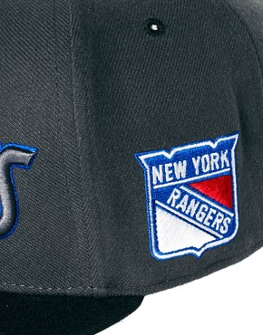 Image 2 of47 Brand Snapback Cap NY Rangers