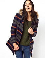 Bellfield Hooded Striped Jacket