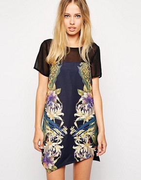 Stylestalker Run Away With Me Asymmetric T-Shirt Dress