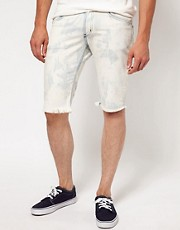 Beta Unit Ziggy Railword Denim Shorts