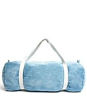 American Apparel Denim Duffle Bag