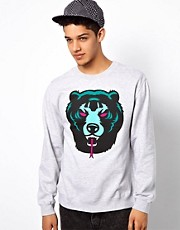 Mishka Crew Sweatshirt Death Adders