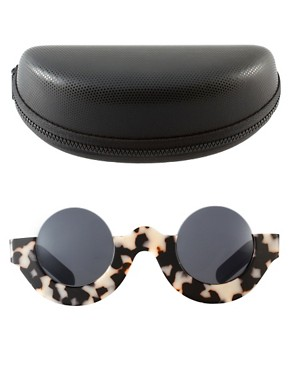 Image 2 ofMauricio Stein For ASOS Handmade Round Half Frame Sunglasses