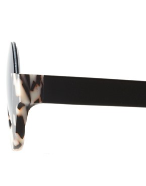 Image 4 ofMauricio Stein For ASOS Handmade Round Half Frame Sunglasses