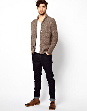 Image 4 ofASOS Textured Shawl Cardigan