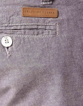 Image 3 ofSelected Three Paris Chambray Chino Short
