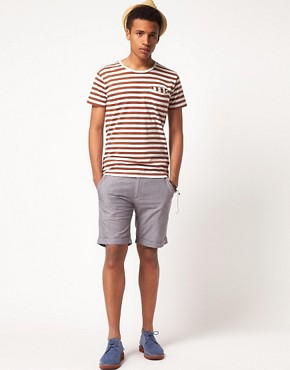 Image 4 ofSelected Three Paris Chambray Chino Short