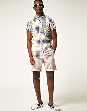 Image 4 ofBen Sherman Fine Stripe Short