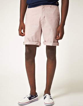 Image 1 ofBen Sherman Fine Stripe Short