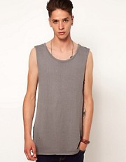 The Twelth Letter Sleeveless Throwover