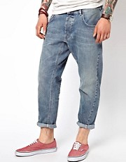 55DSL Jeans Cropped Tapered