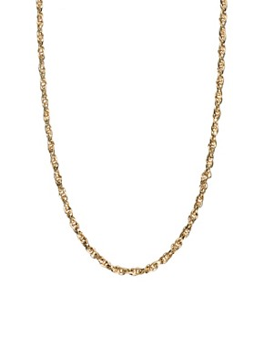Image 1 ofSusan Caplan Exclusive For ASOS Vintage 70s Snake Chain Necklace