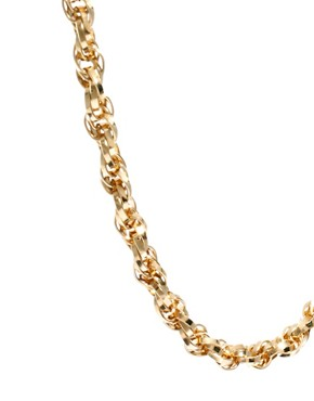 Image 4 ofSusan Caplan Exclusive For ASOS Vintage 70s Snake Chain Necklace