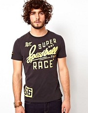 Superdry T-Shirt With Speedball Race Print