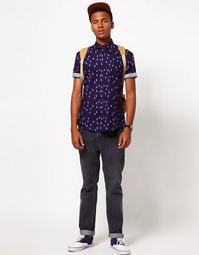 Image 4 ofASOS Shirt With Sailing Boat Print