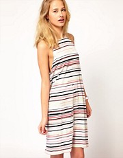 Cheap Monday Interrupted Stripe Dress