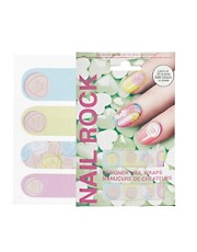 Nail Rock Heart Nail Wraps