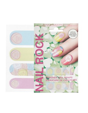 Image 1 ofNail Rock Heart Nail Wraps
