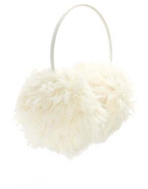Image 2 of ASOS Faux Shearling Earmuffs