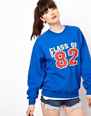 Pop Boutique Class of 82 Sweat Top