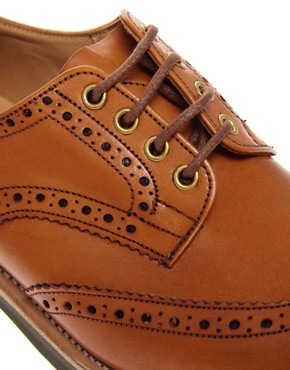 Image 2 ofTrickers Exclusive for ASOS Bourton Brogues