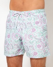 Franks  Badeshorts mit Paisleymuster