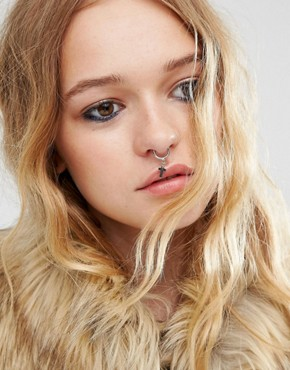 ASOS Cross Charm Nose Ring