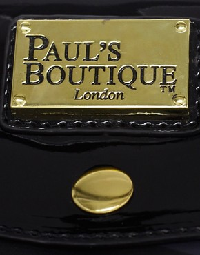 Image 2 ofPaul s Boutique Betty Black Skull Zip Top Shopper Exclusive To ASOS