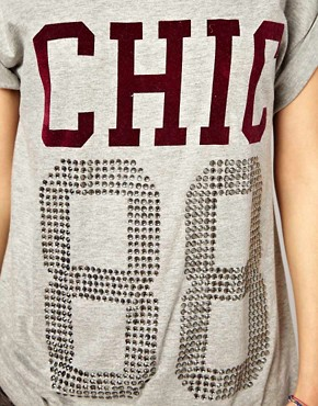Image 3 ofRiver Island Chic 88 Tee