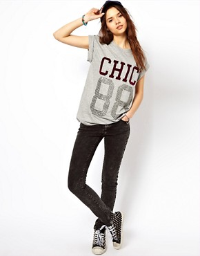 Image 4 ofRiver Island Chic 88 Tee