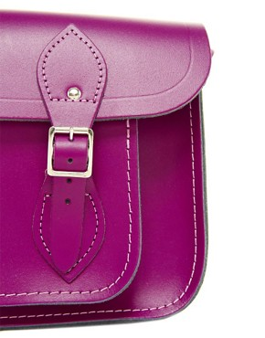 Image 4 ofCambridge Satchel Company Exclusive to Asos 11&quot; Leather Satchel