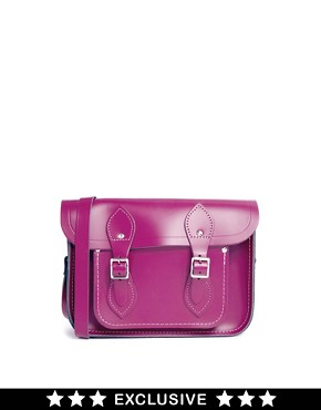 Image 1 ofCambridge Satchel Company Exclusive to Asos 11&quot; Leather Satchel