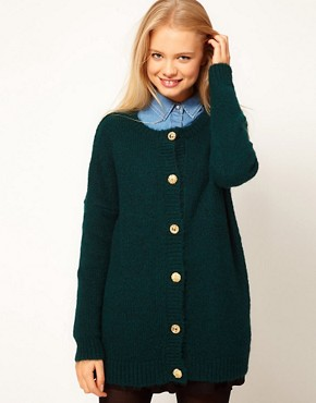 Image 1 of ASOS Vintage Button Cardigan