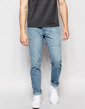 Hollister Skinny Jean With Patch