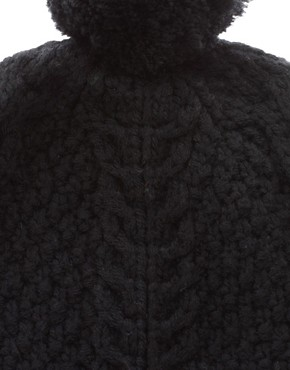 Image 2 ofLowie Chunky Merino Pom Beanie