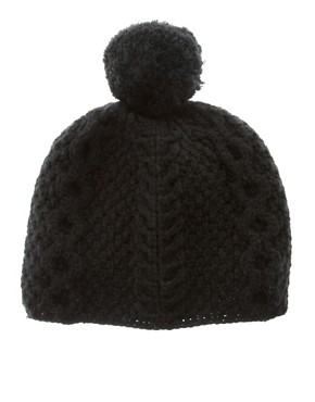Image 3 ofLowie Chunky Merino Pom Beanie