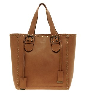 Image 1 ofFrench Connection Isla Leather Tote